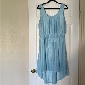 Charlotte Russe Blue Lace Dress